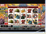 automatenspiele Captain America CryptoLogic