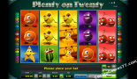 automatenspiele Plenty on twenty Greentube